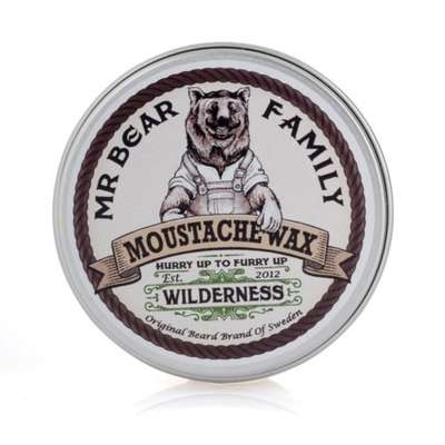 Mr Bear Family Wosk do stylizacji wąsów Wilderness 30ml