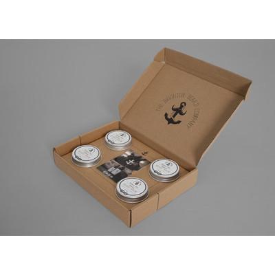 Brighton Beard Zestaw prezentowy 4 balsamów do brody 4x30ml