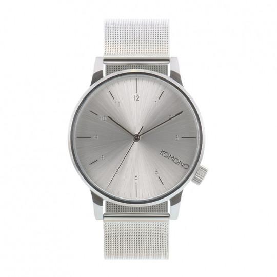 KOMONO Winston Royale silver - męski zegarek klasyczny