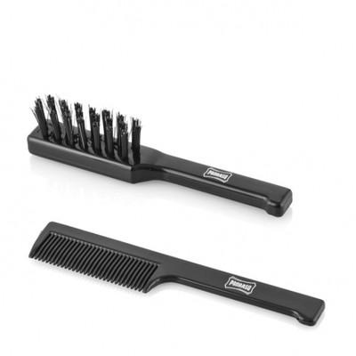 Proraso Travel Brush, grzebień i szczotka do brody