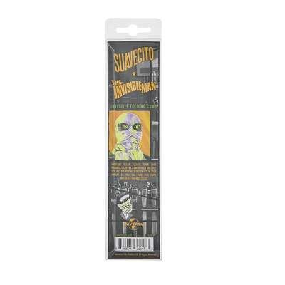 Suavecito Invisible Man - przeźroczysty składany grzebień