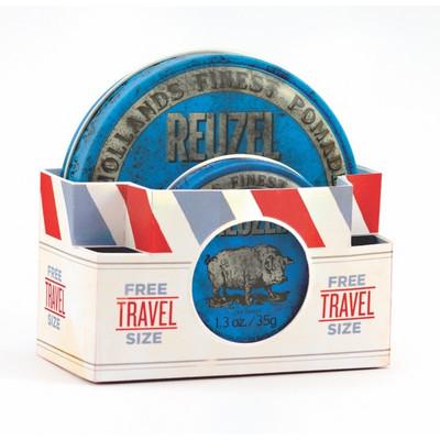 Reuzel Blue Travel Pack 113g+35g Wodna pomada wysoki połysk/mocny chwyt