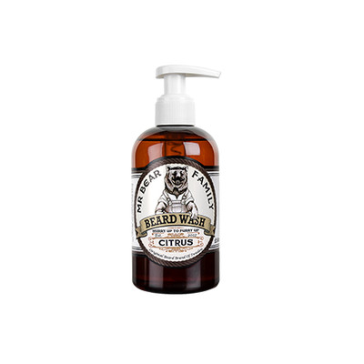Mr Bear Family Citrus męski cytrusowy szampon do brody 250ml