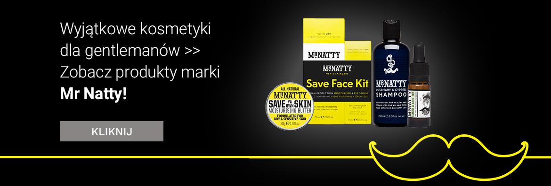 Kosmetyki marki Mr Natty