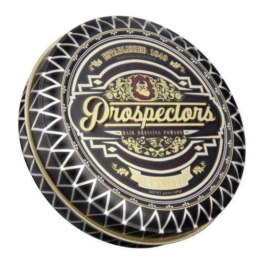 Prospectors Gold Rush Pomade - średni chwyt/lekki połysk 128g (1)