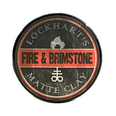 Lockhart's Fire and Brimstone Water Based Pomade 105g (1)
