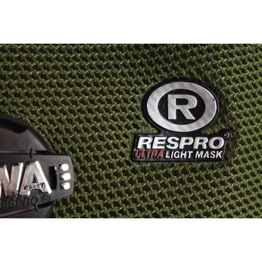 RESPRO FB-1 Black - miejska maska antysmogowa PM2.5 PM10  (1)