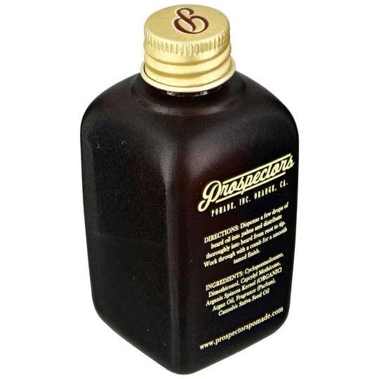 Prospectors Bay Rum Beard Oil - olejek do brody 50ml (1)