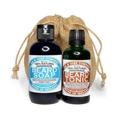 Dr K Soap Duży zestaw pielęgnacyjny do brody: szampon 250ml + tonik 100 ml