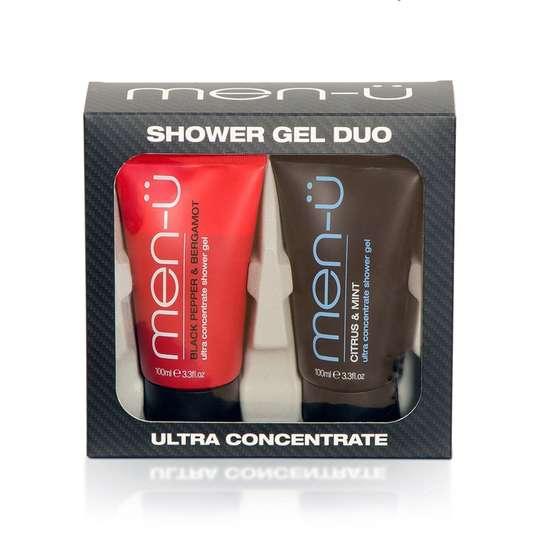 men-u Męski energetyzujący żel pod prysznic czarny pieprz, bergamotka 100ml (1)