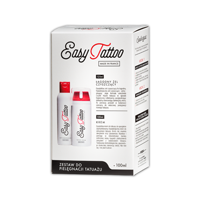 Easytattoo hipoalergiczny żel pielęgnujący do tatuażu 125ml (1)