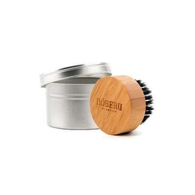 Nõberu of Sweden Beard Brush - Kartacz szczotka do brody z bambusa i naturalnej szczeciny