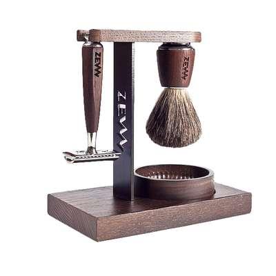 ZEW Ekskluzywny Wet Shaving set zestaw do klasycznego golenia MUHLE PREZENT