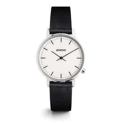 KOMONO Walther Harlow Midnight - Designerski męski zegarek klasyczny (1)