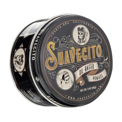 Suavecito Oil-Based Pomade woskowa pomada do włosów średni chwyt/połysk 85g
