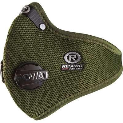 RESPRO Ultralight Green - miejska maska antysmogowa PM2.5 PM10 rozmiar L