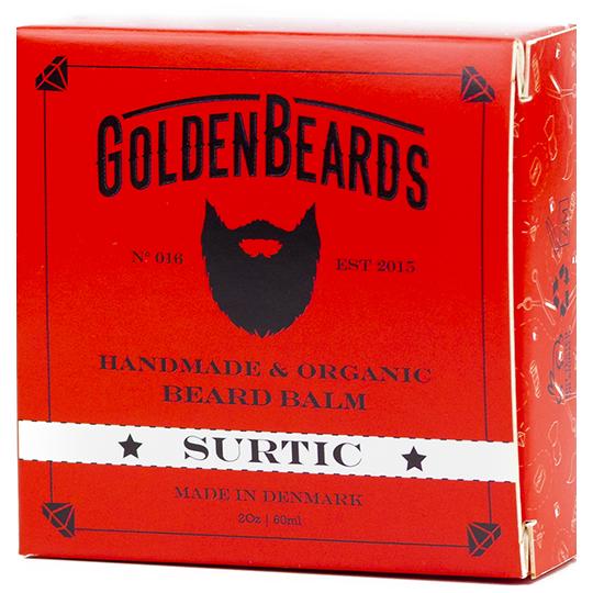 Golden Beards Organic Balm Big Sur - balsam do brody 60ml (1)