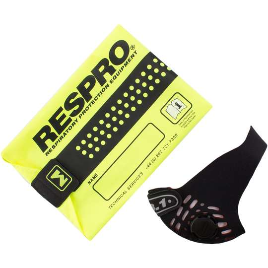 RESPRO FB-1 Black - miejska maska antysmogowa PM2.5 PM10