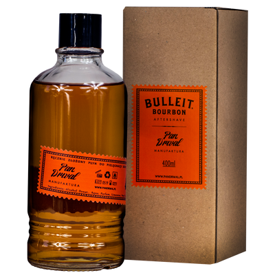 Pan Drwal Bulleit Bourbon Aftershave - woda po goleniu 100ml (1)
