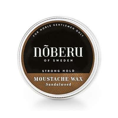 Nõberu of Sweden Mustachvax Light-hold Amber-Lime - Wosk do wąsów lekkie utrwalenie 30ml  (1)