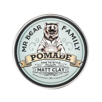 Mr Bear Family Matt Clay Pomade Matowa glinka do włosów 100ml