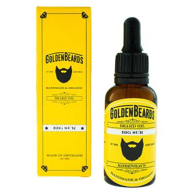 Golden Beards Organic Beard Oil Surtic - olejek do brody 30ml (1)