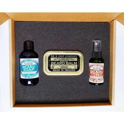 Dr K Soap męski zestaw pielęgnacyjny do brody szampon + tonik (1)