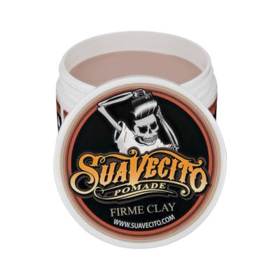 Suavecito Clay Firme Hold - Glinka go włosów mocny chwyt/matowe wykończenie