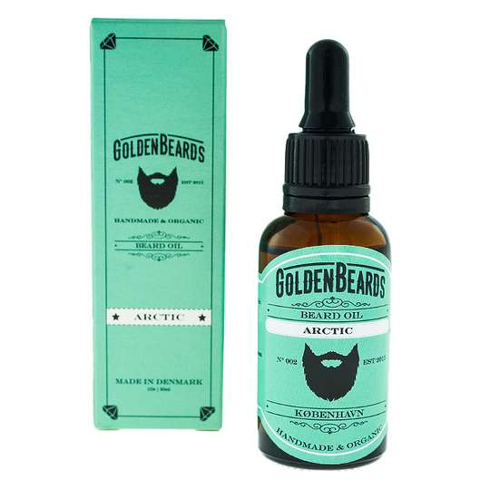 Golden Beards Organic Beard Oil - olejek do brody 30ml