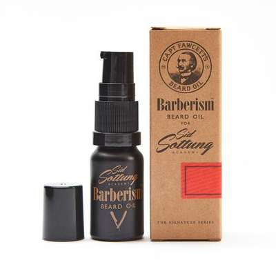 Captain Fawcett edycja Ricki Hall Booze & Baccy Olejek do brody 10ml (1)