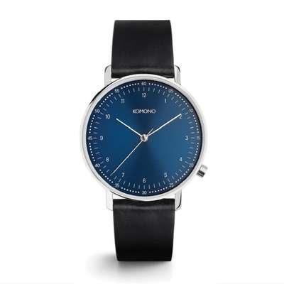 KOMONO Walther Lewis Midnight - Designerski męski zegarek klasyczny (1)