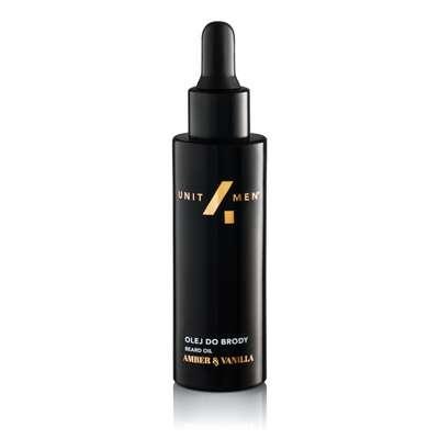 Unite4men męski perfumowany olej do brody Amber &Vanilla 30ml
