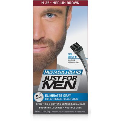 Just For Men M-25 Jasny Brąz - odsiwiający żel do brody i wąsów (1)