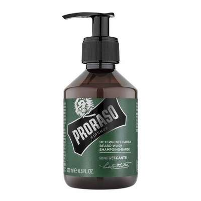PRORASO szampon do brody Eukaliptus 200 ml + Olejek do brody Eukaliptus 30ml