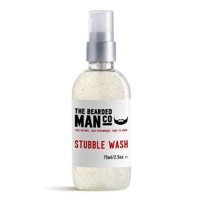 Bearded Man Co Stubble Wash - nawilżający peeling do twarzy i zarostu 75 ml