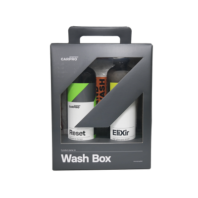 CARPRO WASH BOX – ZESTAW DO PIELĘGNACJI LAKIERU, IDEALNY DLA POCZĄTKUJĄCYCH