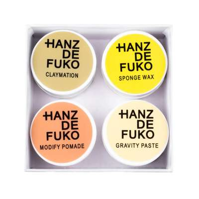 Hanz de Fuko The Mini 4 Pack - zestaw 4 mini pomad