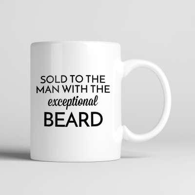 Bearded Man Co Beard Mug 01 - Unikatowy kubek brodacza