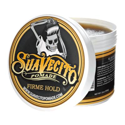 Suavecito Firme Hold męska ekstra mocna pomada do układania włosów 113g (1)