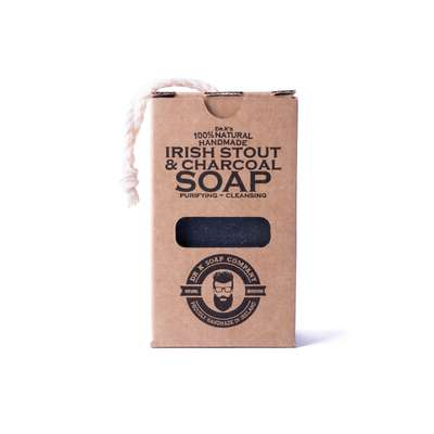 Dr K Soap Irish Stout & Charcoal Soap - mydło do ciała