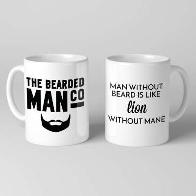 Bearded Man Co Beard Mug 03 - Unikatowy kubek brodacza