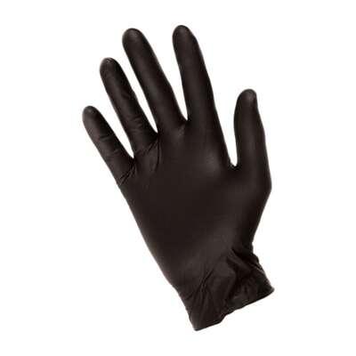 SOSOFT BLACK - czarne ochronne rękawiczki nitrylowe 100 szt. Rozmiar L