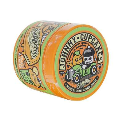 Suavecito Matte Pomade Johnny Cupcakes Orange and Cream - Wodna pomada LIMITOWANA EDYCJA 113g