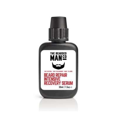 Bearded Man Co Beaed Repair Intensive Recovery Serum - intensywnie naprawcze serum do brody 30 ml
