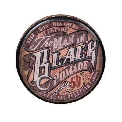 Schmiere Special Edition The Man in Black Pomade Rock Hard - bardzo mocny chwyt, mocny połysk 140 ml