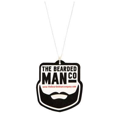 Bearded Man Co Car Air Freshener Clean - zawieszka zapachowa do auta