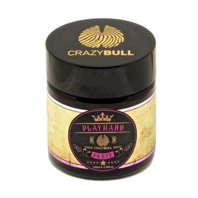 Crazy Bull Play Hard - pasta do włosów ultra mocny chwyt / matowe wykończenie 100 ml
