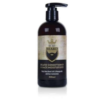 By My Beard UK Zestaw Odżywczy szampon do brody 300ml + Odżywka do brody i zarostu 300ml