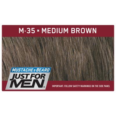 Just For Men M-35 Średni Brąz - odsiwiający żel do brody i wąsów