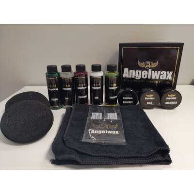 ANGELWAX SAMPLE BOX – ZESTAW UPOMINKOWY Z TESTERAMI PRODUKTÓW